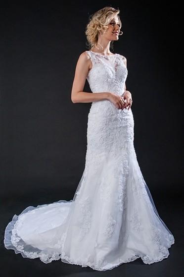 Aluguel de Vestido de Noiva Clássico Anália Franco - Vestido de Noiva