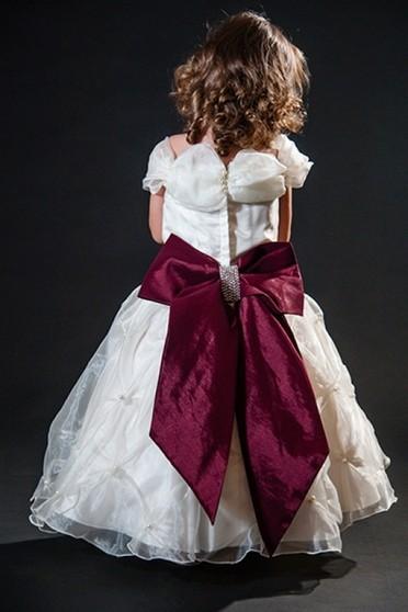 Aluguel de Vestidos de Daminha Infantil Perus - Vestidos de Daminhas Branco