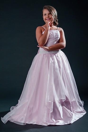 Aluguel de Vestidos de Daminha para Casamento Brás - Vestidos de Daminha Bordado com Perola