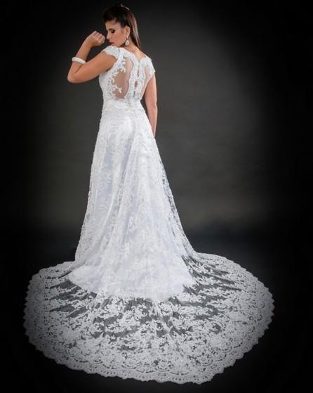 Loja de Vestido de Noiva Princesa Vila Matilde - Vestido de Noiva com Renda