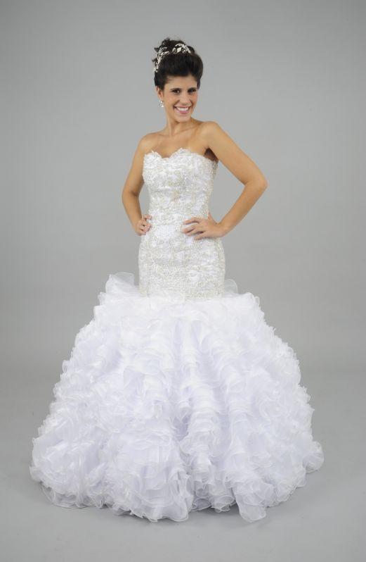 Onde Encontrar Aluguel de Vestidos de Noiva em Glicério - Locação de Vestidos de Madrinha