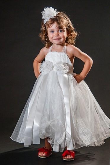 Orçamento para Vestidos de Daminhas Branco Jardim São Luiz - Vestidos de Daminha Infantil
