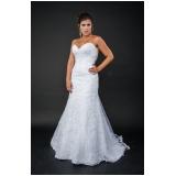 aluguel de vestido de noiva com renda Consolação