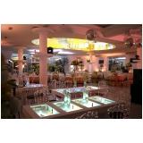 buffet para casamento com decoração preço Pacaembu