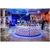 buffet para casamento com decoração Itaquera