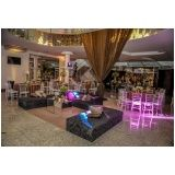 buffet para eventos de casamento preço na Vila Dalila