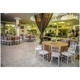 buffet para eventos de casamento em Interlagos