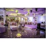 espaço para casamento a noite preço Campo Limpo