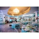 espaço para casamento com buffet Vila Esperança