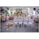 espaço para eventos de casamento na Vila Dalila
