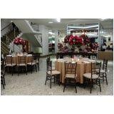 espaço para festa de casamento no Aeroporto