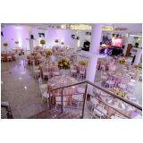 espaço para eventos de casamento