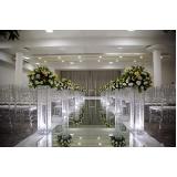 locação de espaço para festa de casamento preço Vila Carrão