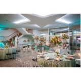 locação de espaço para festa de casamento Vila Dalila