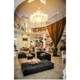 locação de espaços para festas preço na Vila Marisa Mazzei