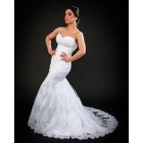 loja de vestido de noiva brilhante Vila Ré