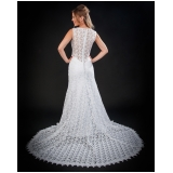 loja de vestido de noiva simples Pedreira