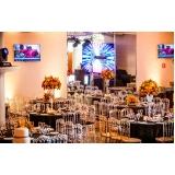 onde encontrar buffet de casamento com decoração Água Branca