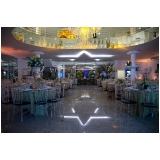 onde encontrar locação de local de festa de casamento Parque São Jorge
