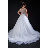 orçamento para vestido de noiva de princesa Vila Andrade