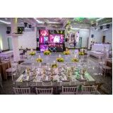 quanto custa espaço para eventos de casamento na Cantareira