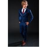 traje noivo azul marinho preço Bixiga