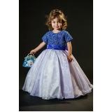 vestido de daminha infantil Vila Romana