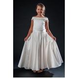 vestido de daminhas para alugar Santa Isabel