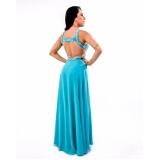 vestido de festa plus size Vila Marisa Mazzei