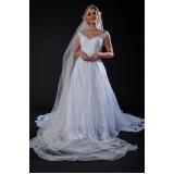 vestido de noiva estilo grego preço Vila Anastácio