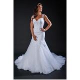 vestido de noiva sereia preço Vila Maria