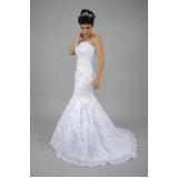 vestido de noiva sereia Vila Esperança