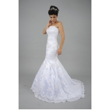 vestido de noiva sereia Jabaquara