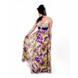 vestido para madrinha de casamento de dia preço Jardim Europa