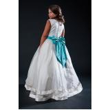 vestidos de daminha casamento preço Parque São Domingos