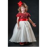vestidos de daminha infantil Vila Matilde
