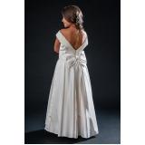 vestidos de daminha para casamento Água Rasa