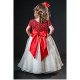 vestidos de daminha simples Vila Esperança