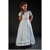 vestidos de daminhas aluguel Anália Franco