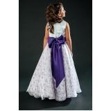vestidos de daminhas e floristas preço Parada Inglesa