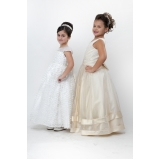 vestidos de daminhas para casamento preço Santa Isabel