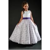 vestidos de daminhas simples preço Brooklin