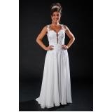 vestidos de noiva de princesa Água Branca