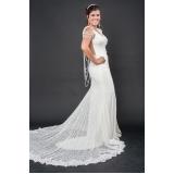 vestidos de noiva de renda Interlagos