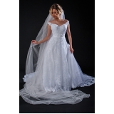 vestidos de noiva estilo grego Jardim Guarapiranga