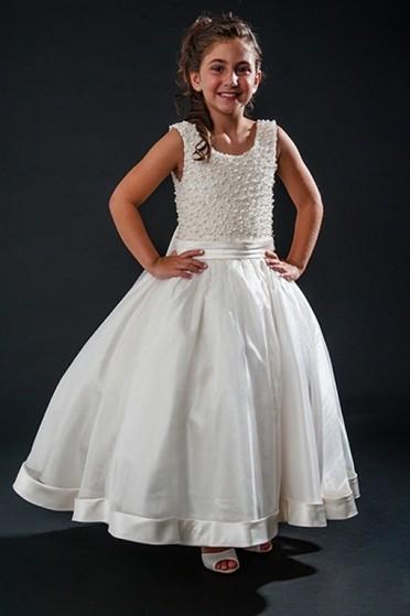 Vestido de Daminhas Aluguel Água Branca - Vestidos de Daminhas Simples