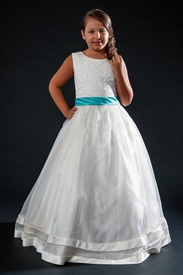 Vestido de Daminhas Simples Itaquera - Vestidos de Daminhas Simples