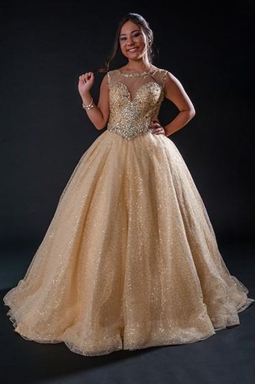 Vestido de Debutante Interlagos - Vestido para Festa de 15 Anos
