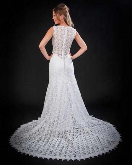 Vestido de Noiva Brilhante Raposo Tavares - Vestido de Noiva Sereia
