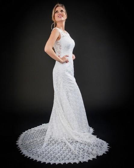 Vestido de Noiva Clássico Alto da Lapa - Vestido de Noiva Simples